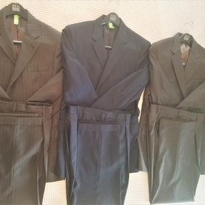 Jos. A. Bank Suits-hand stitched variety.